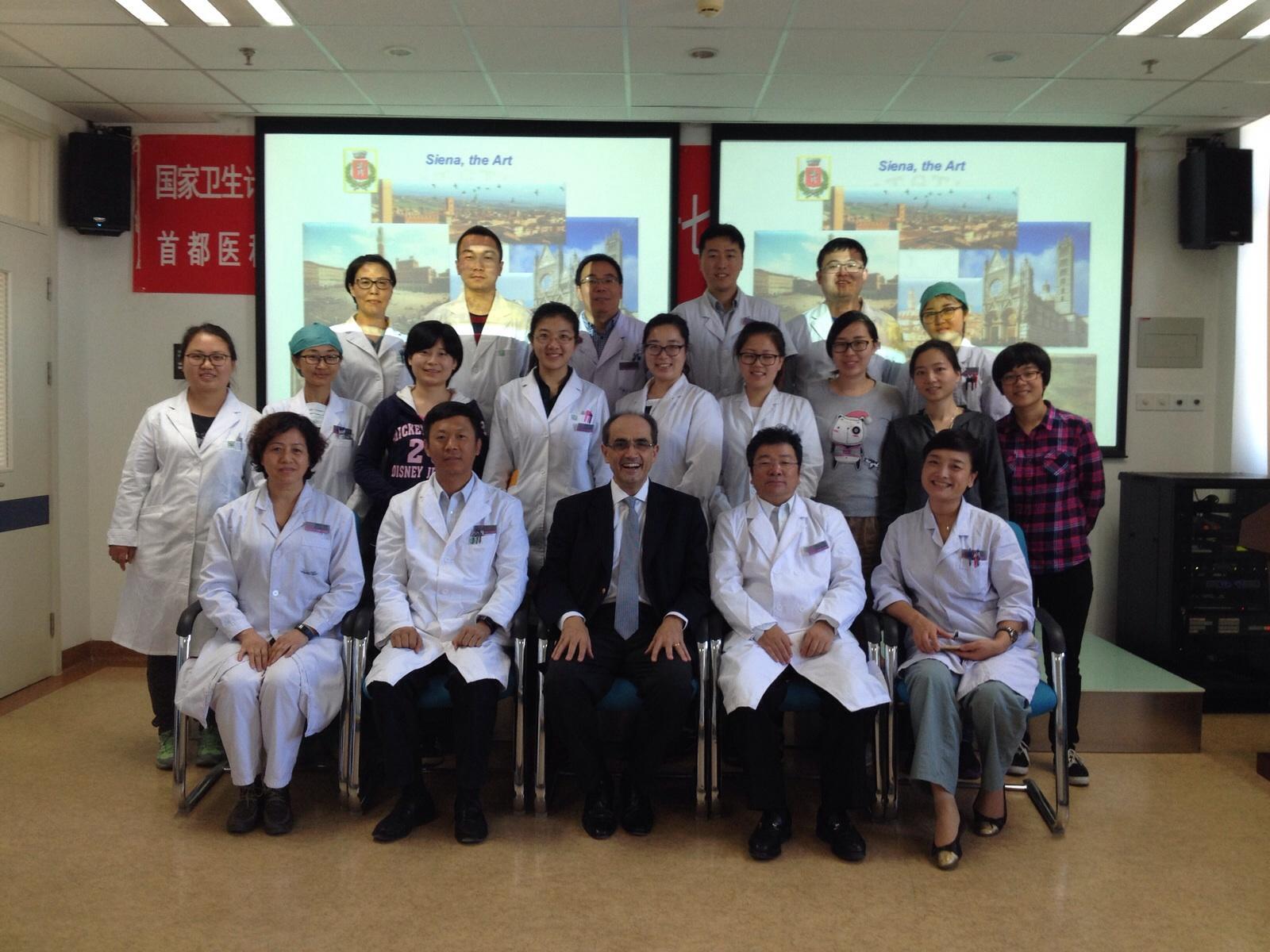 Medicina, nuovi accordi con la Cina