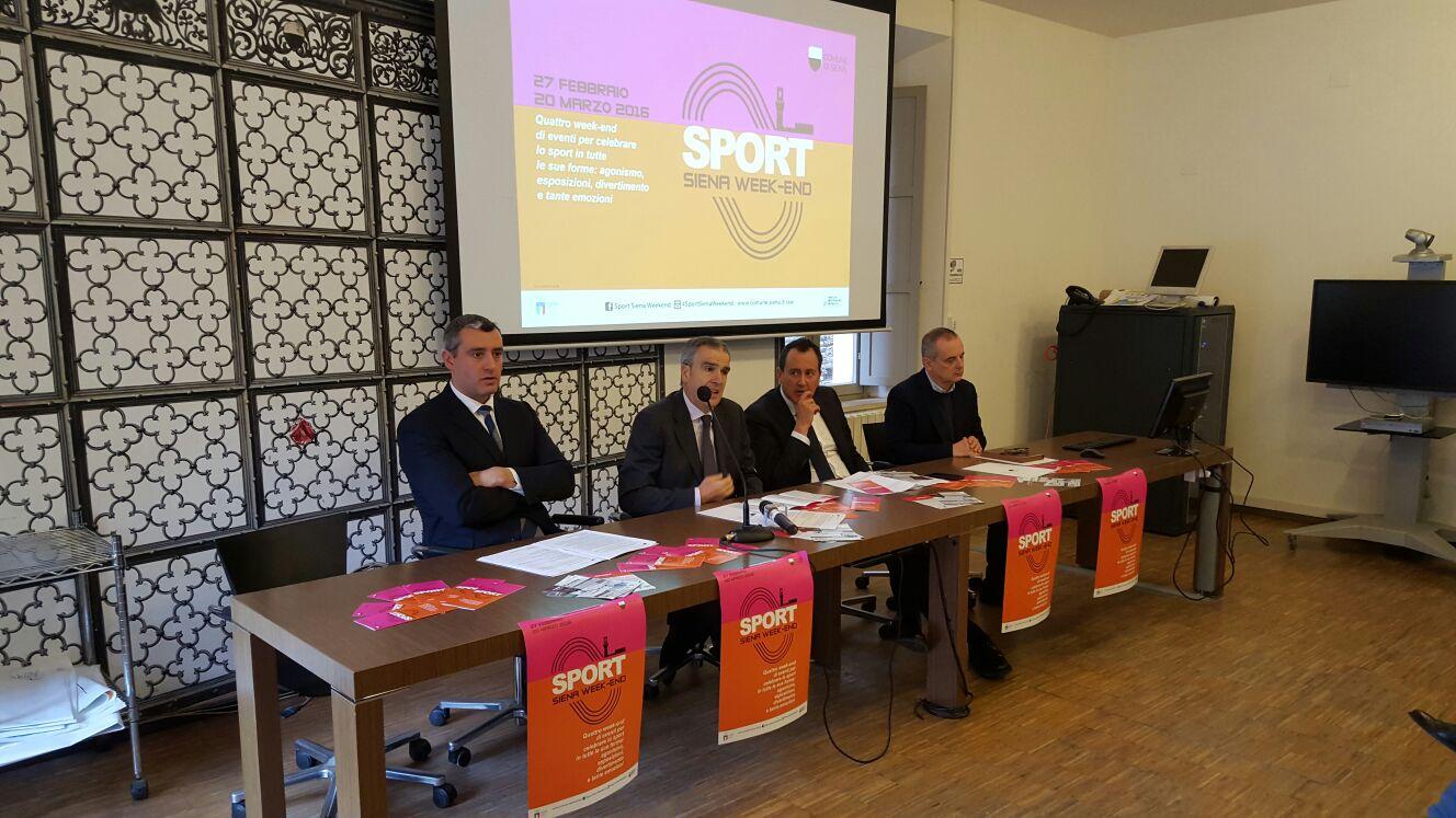 Sport Siena Week end