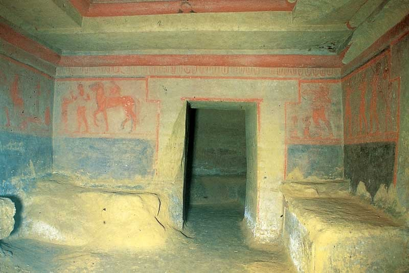 Tomba etrusca, nuovo ritrovamento a Chiusi