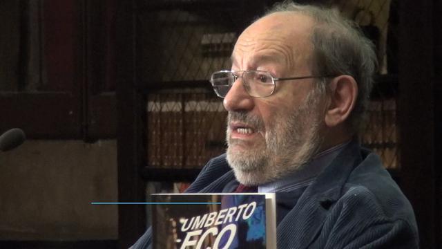 E' morto Umberto Eco, laurea honoris causa a Siena