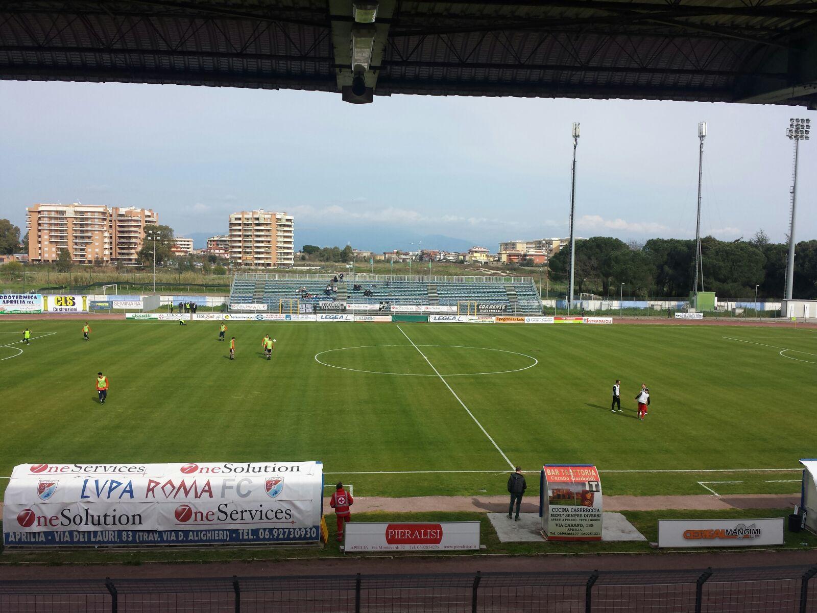Orrore Robur: sconfitta 3-0 dalla Lupa Roma