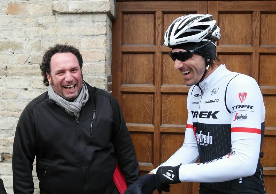 Il Bruco invita al Palio Fabian Cancellara