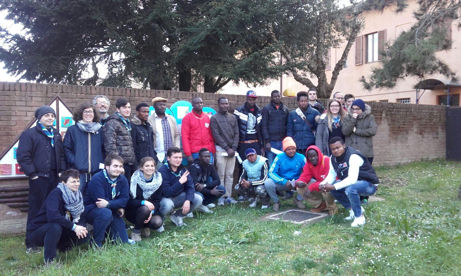 Monteroni, piazzetta diventa simbolo di integrazione