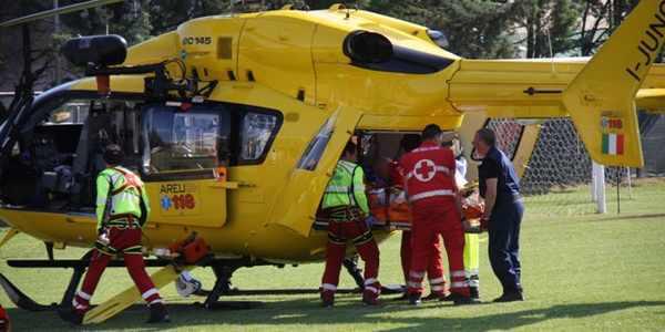 Incidente stradale a Quercegrossa, si alza in volo Pegaso