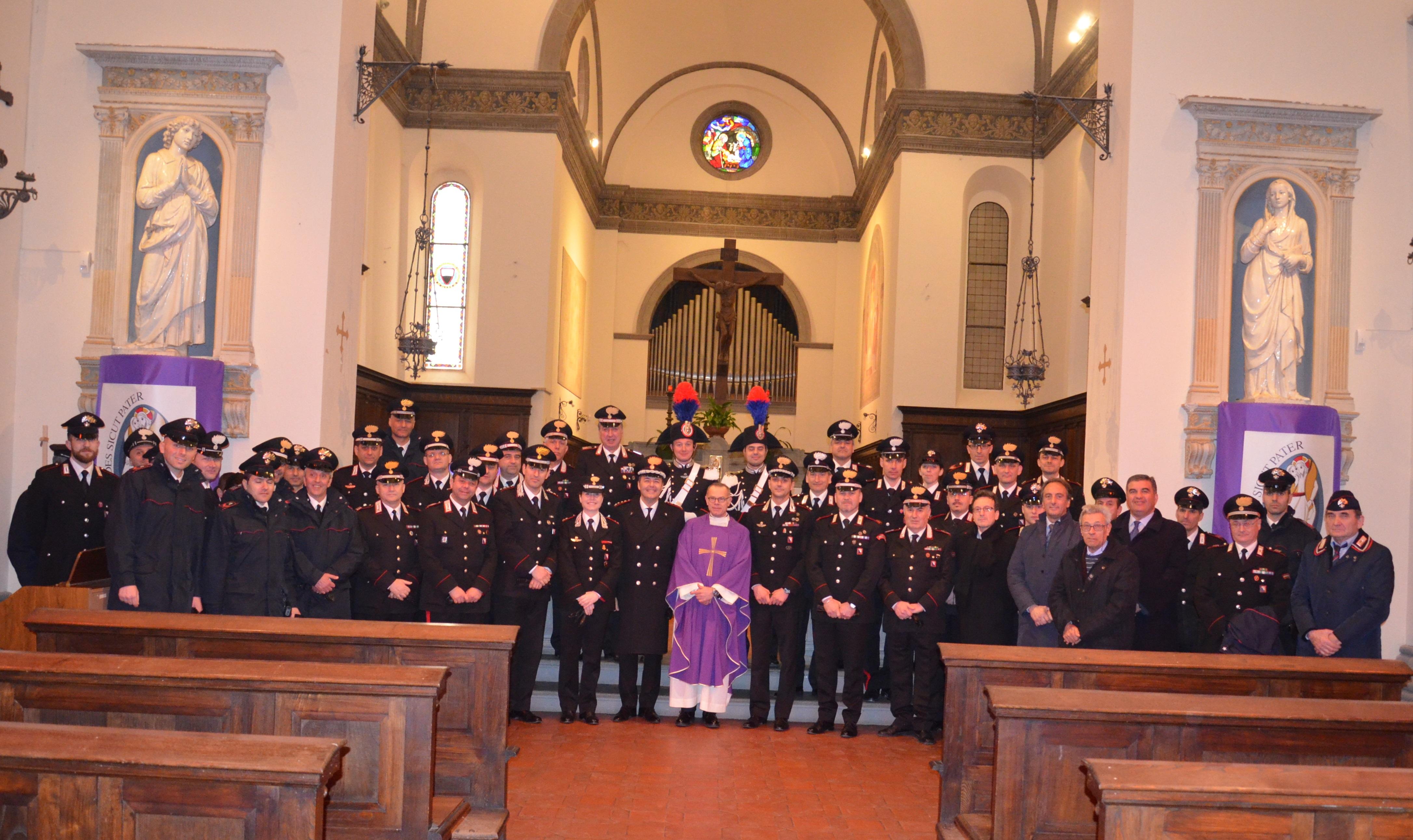 Carabinieri celebrano il Precetto pasquale