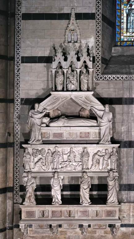 Una nuova lettura per il sepolcro del cardinal Petroni