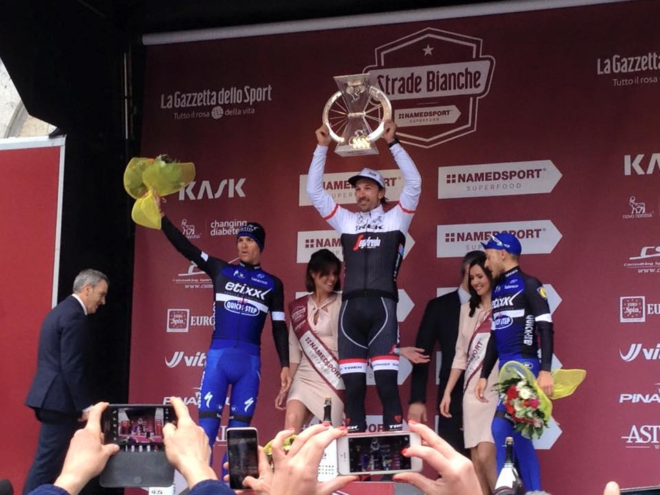 Fabian Cancellara ancora vincente a Le Strade Bianche