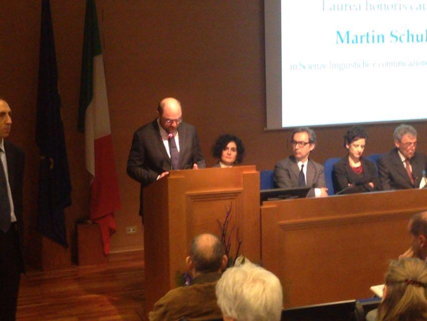 PRESIDENTE DEL PARLAMENTO EUROPEO MARTIN SHULZ