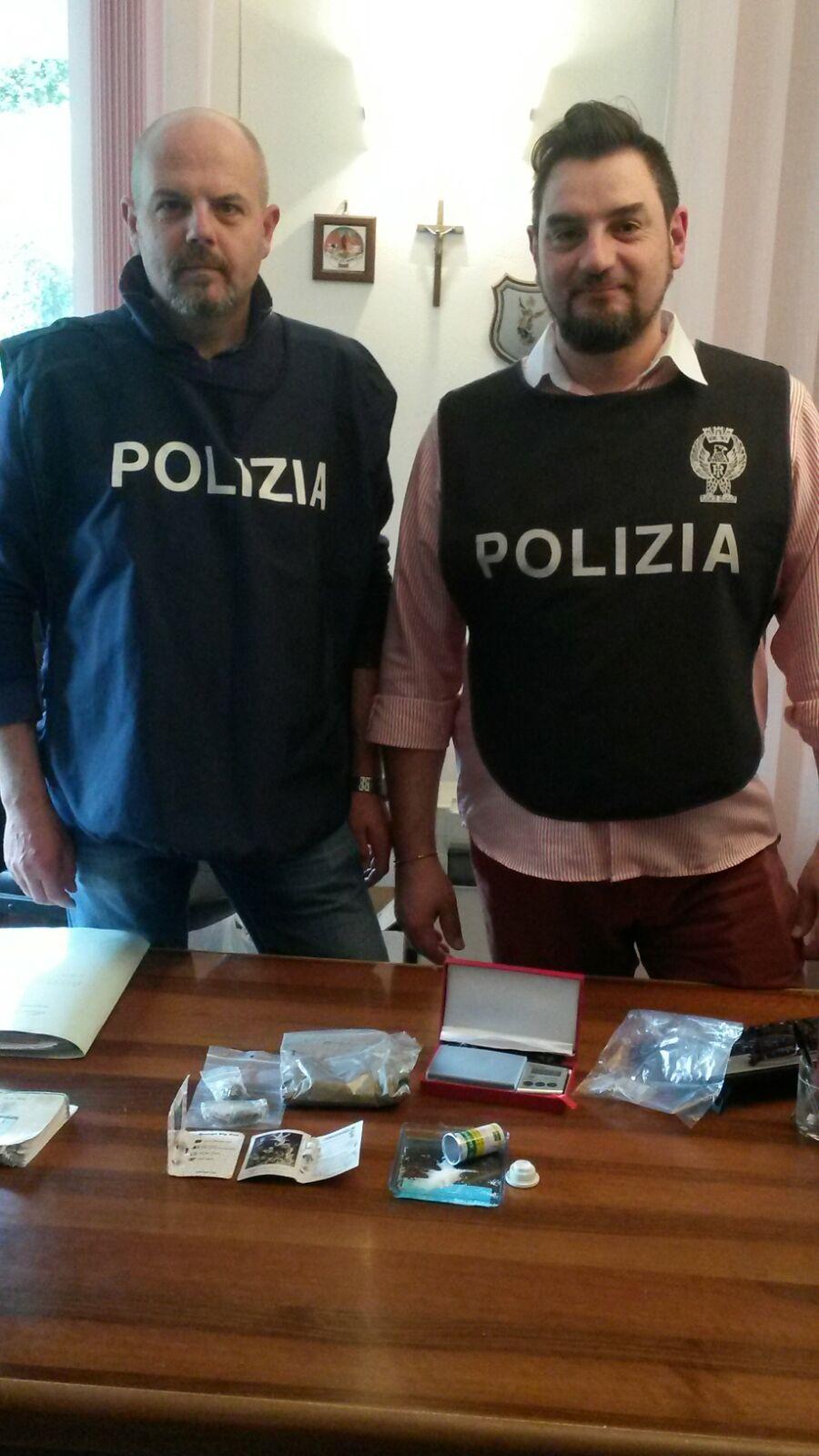 Droga sintetica sequestrata dalla polizia