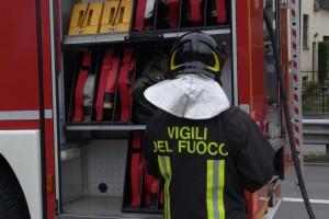 vigili del fuoco incendio san gimignano