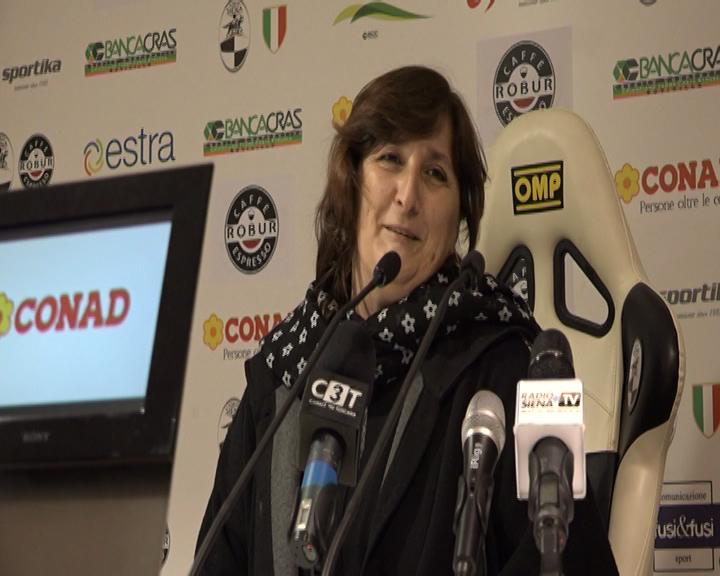 "Anna Durio in esclusiva a Radio Siena Tv: ""Nelle prossime ore sarò a Siena ed incontrerò i soci""."