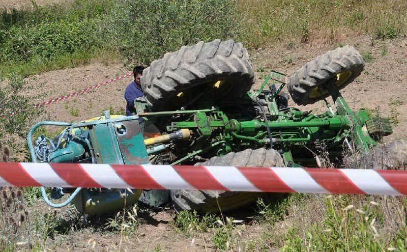 Si ribalta un trattore a Piancastagnaio