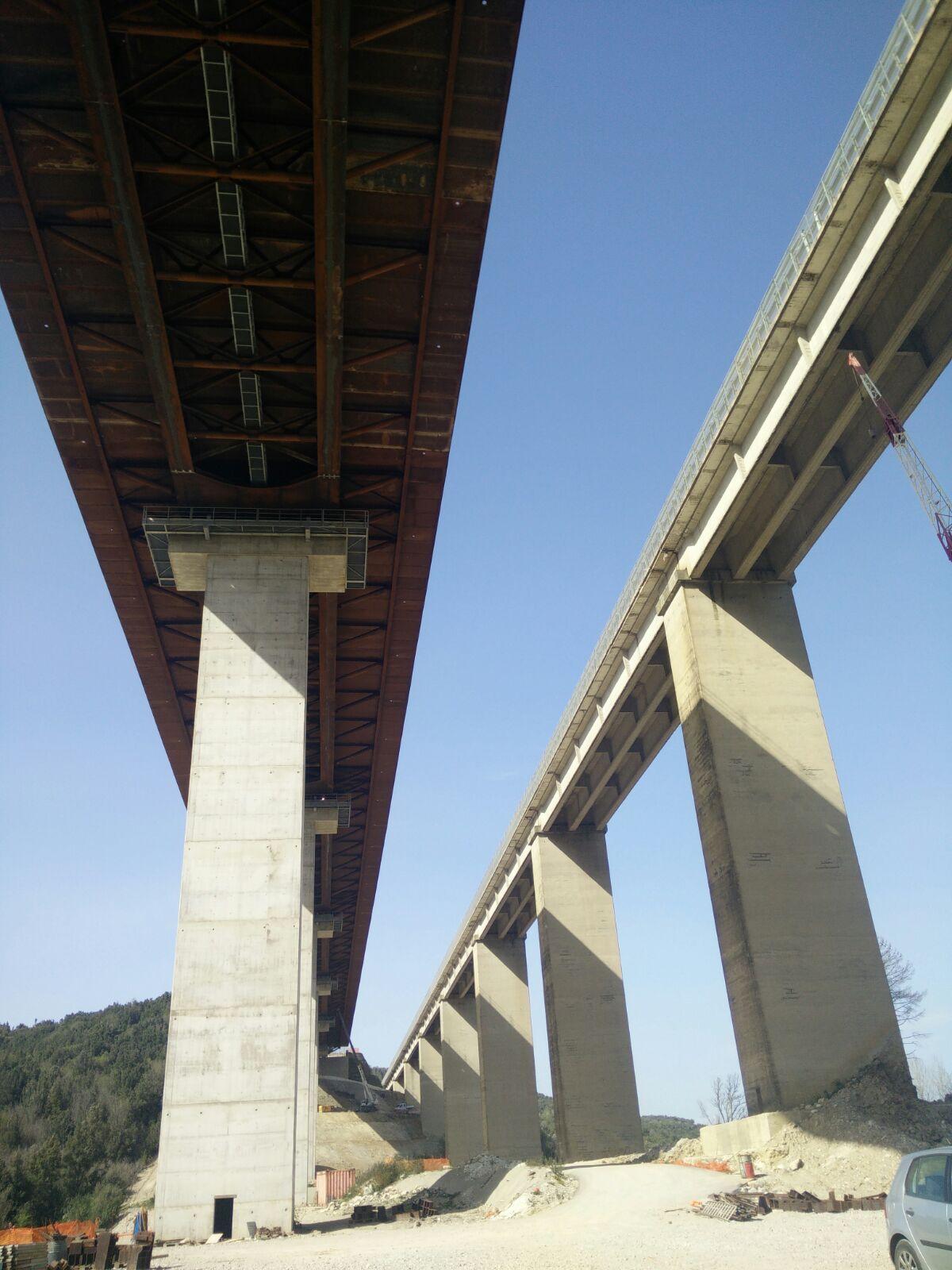 Ponte di Petriolo, apertura ad agosto. Raddoppio completo entro il 2022