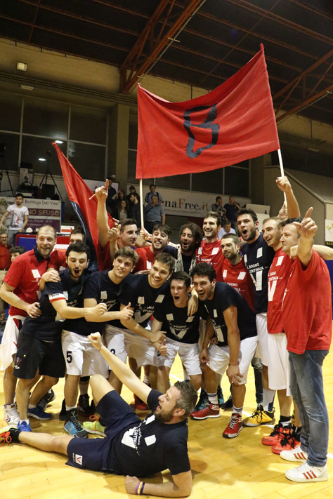 Virtus promossa in serie B