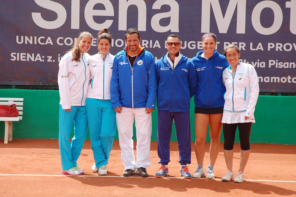Le ragazze del Circolo Tennis Siena in finale per la promozione in A2