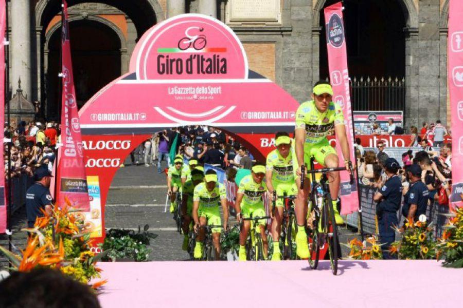 Tappa senese del Giro d'Italia