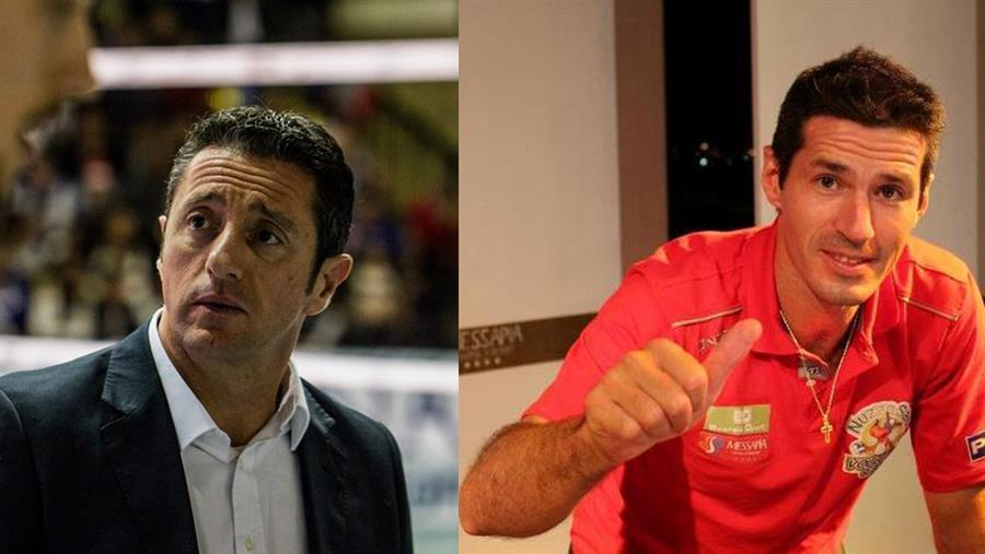 Fabrizio Grezio e Omar Pelillo nello staff tecnico della Emma Villas Siena