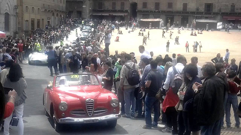 Le 1000 miglia 2021 non passeranno da Siena