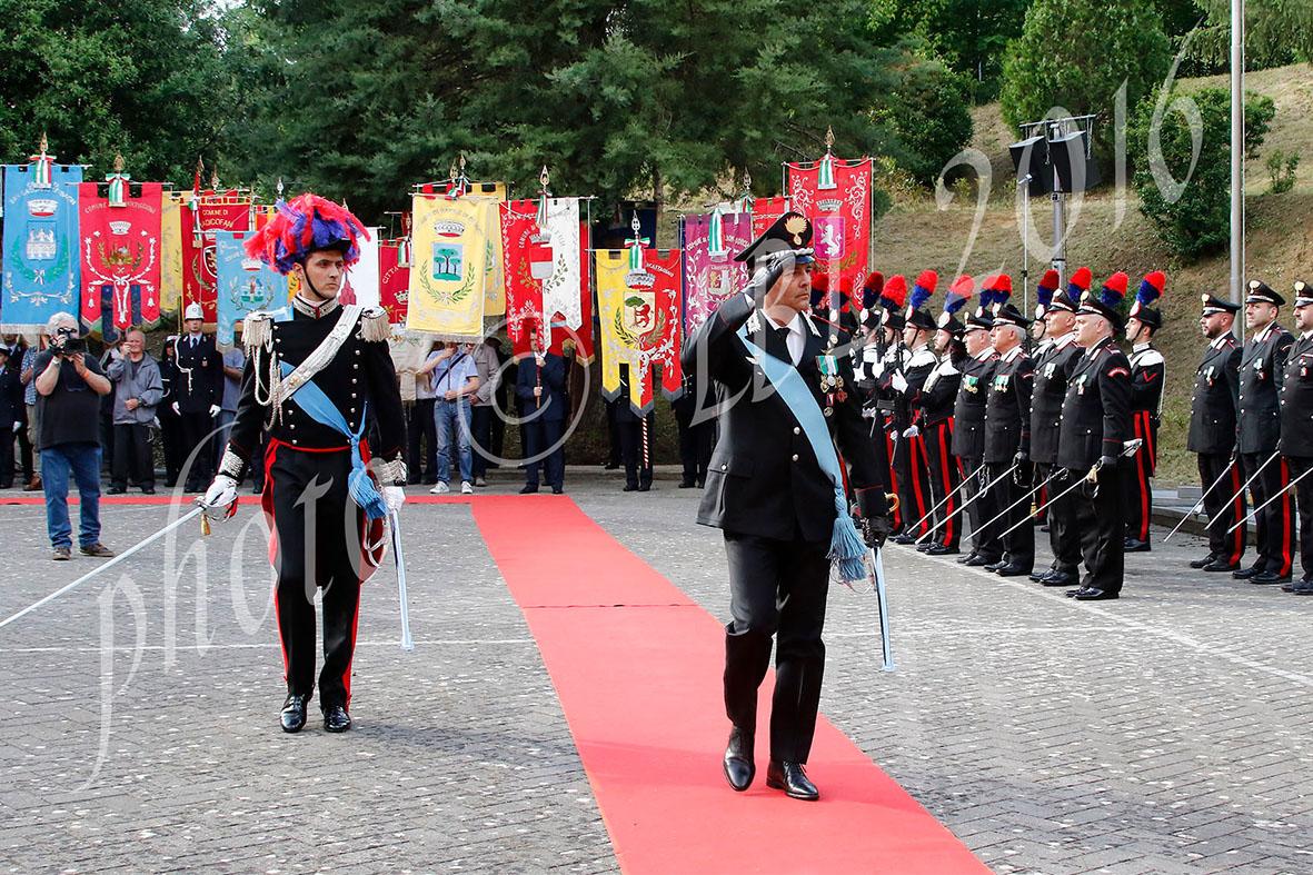 A Siena festeggiato il 202° anno dalla fondazione dell'Arma dei Carabinieri