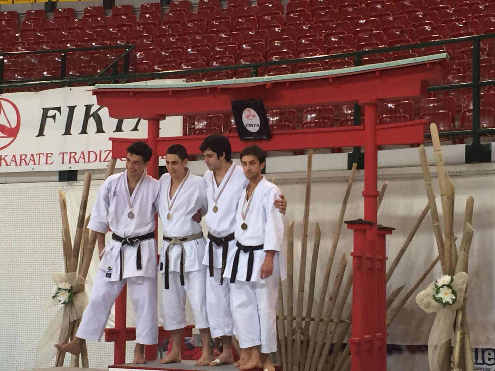 Daniele Migliaccio e Filippo Belli karateki medagliati
