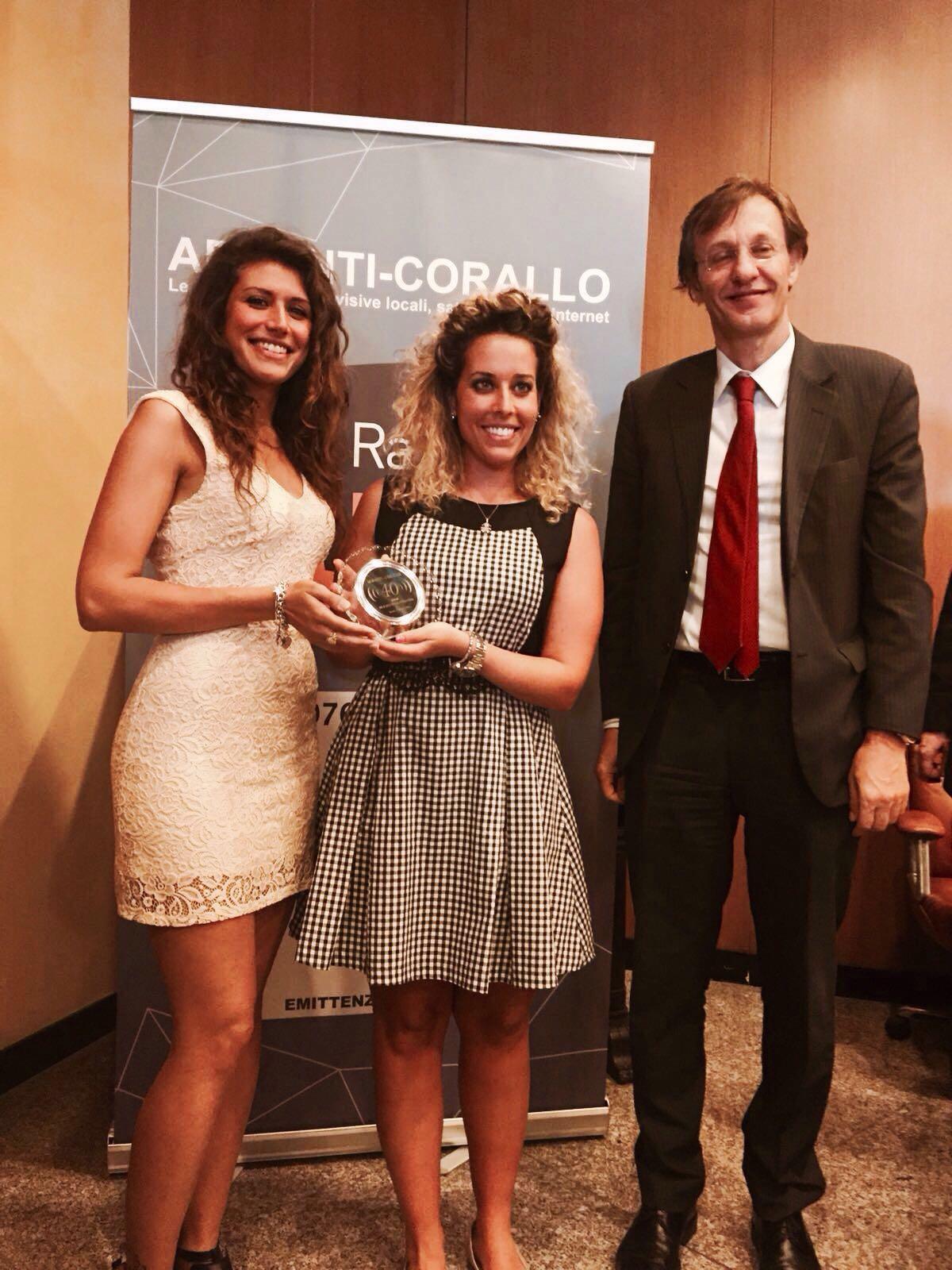 Radio Siena Tv premiata a Roma per i suoi primi quarant'anni