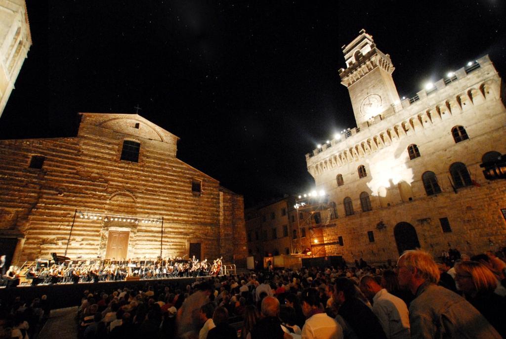 Al 41° Cantiere di Montepulciano un concerto con 200 musicisti in Piazza Grande