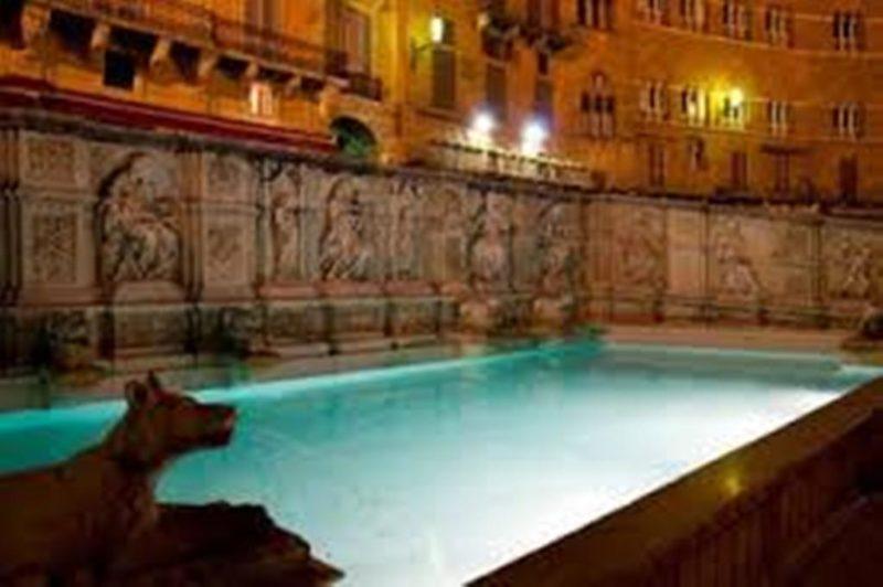 bagno in Fonte Gaia