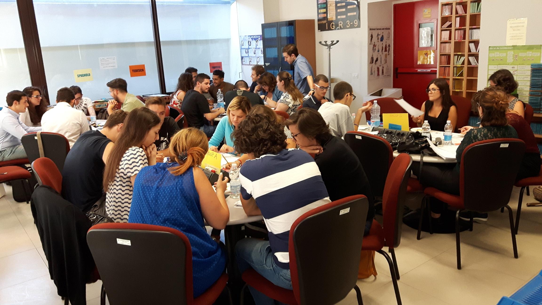 Corso di inglese full immersion all'Università di Siena per trenta studenti che si sono preimmatricolati