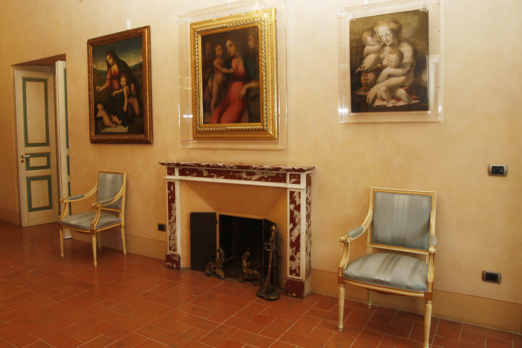 """""""Lezioni d'arte"""" per studenti a Palazzo Sansedoni"""