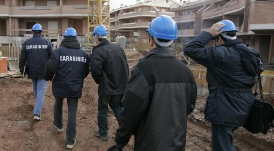 Controlli ai cantieri edili, sanzioni elevate e due denunce