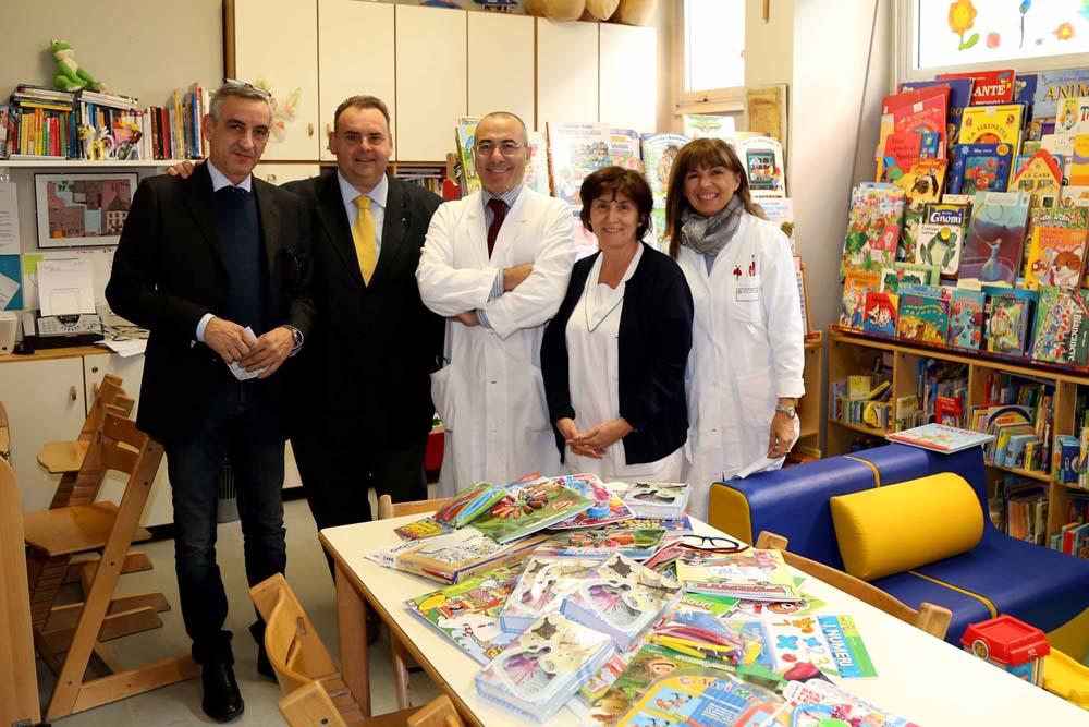 Il Grande Oriente d'Italia dona giochi alla Pediatria