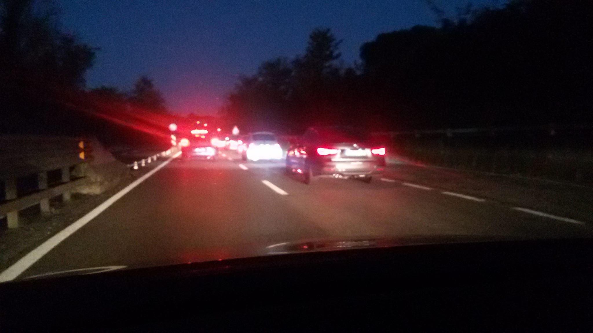 Doppio tamponamento sulla Siena-Firenze: file chilometriche sull'Autopalio