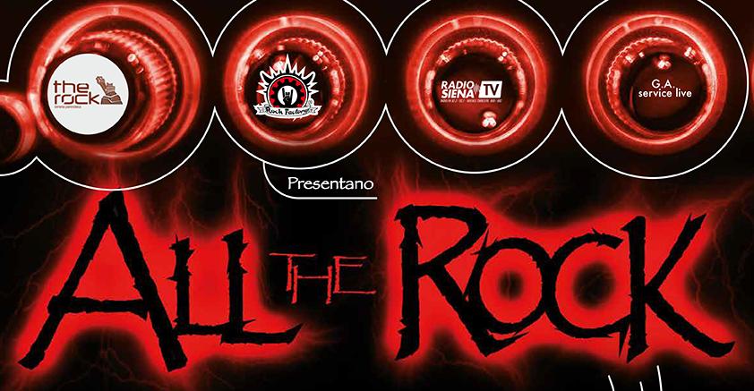 """""""ALL THE ROCK"""": un palco d'eccezione per le band emergenti"""