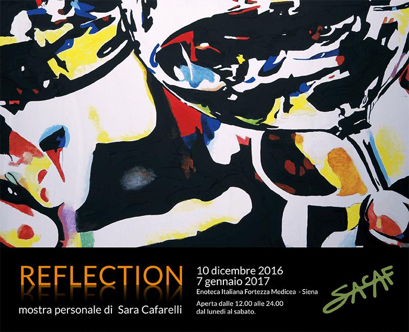 """""""Reflection"""": a Siena la mostra personale di Sara Cafarelli"""