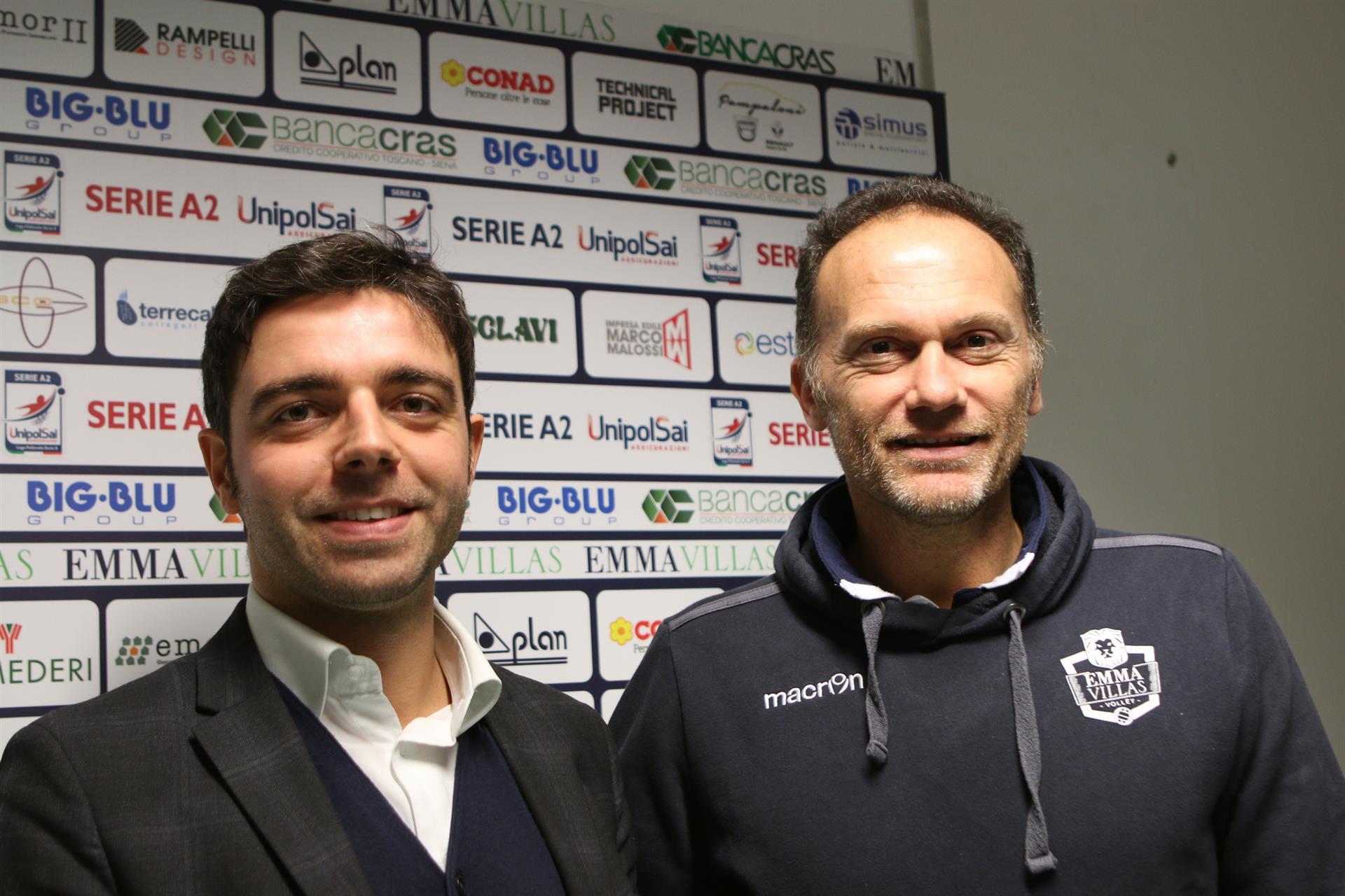 """Emma Villas Siena, Tofoli: """"Brescia forte in attacco, siamo pronti"""""""