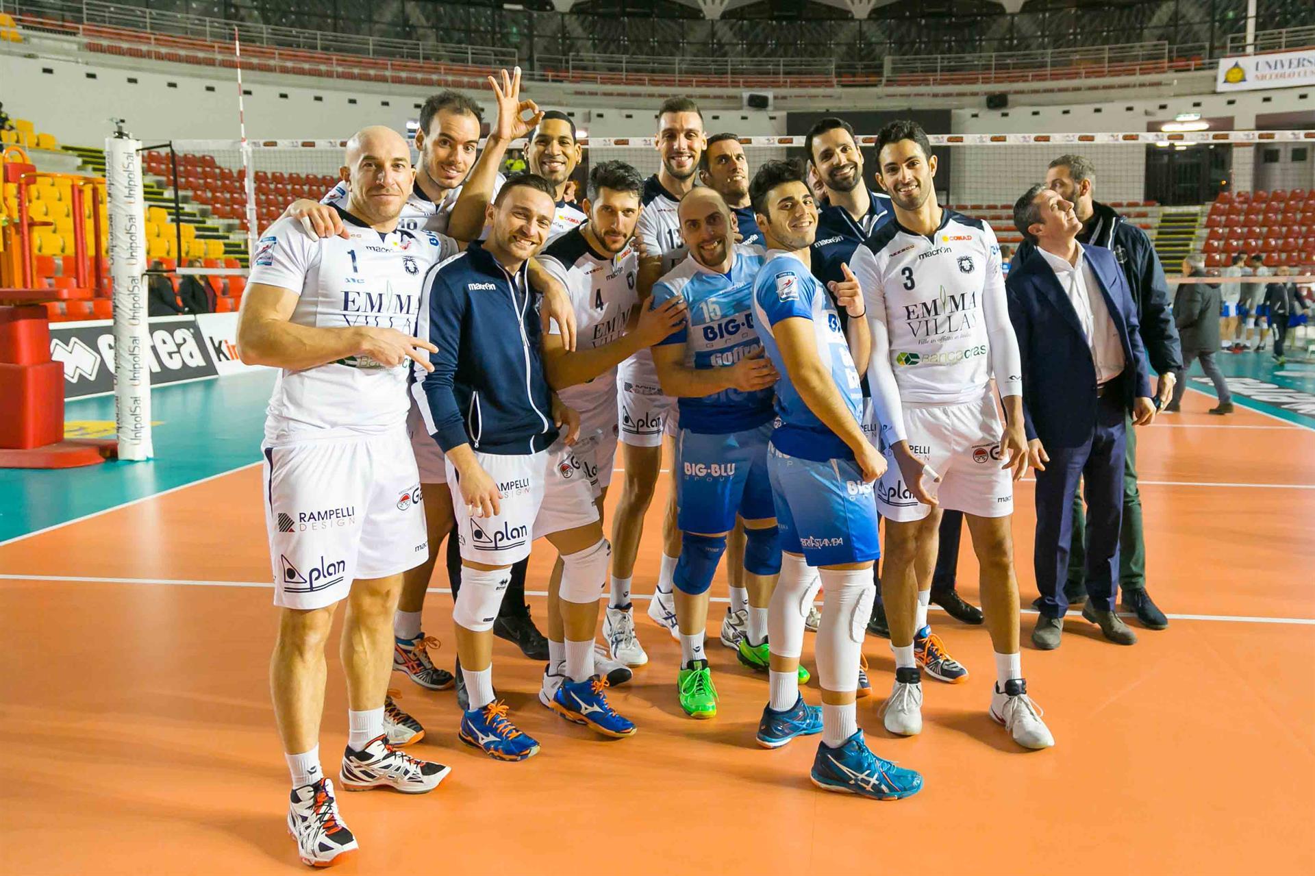 "Volley: Emma Villas ""asfalta"" Club Italia a Roma"