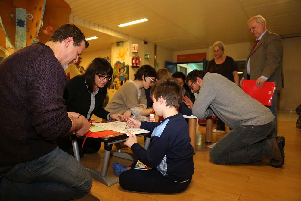 L'arte arriva in pediatria grazie agli scrittori senesi