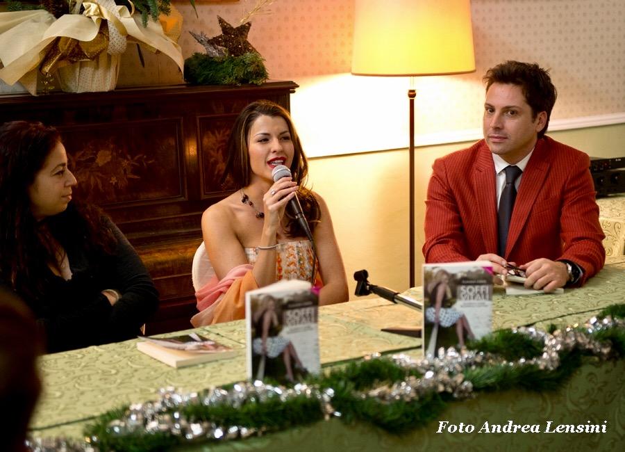 Successo per il Book Christmas Party con Claudia Conte e Vincenzo Bocciarelli