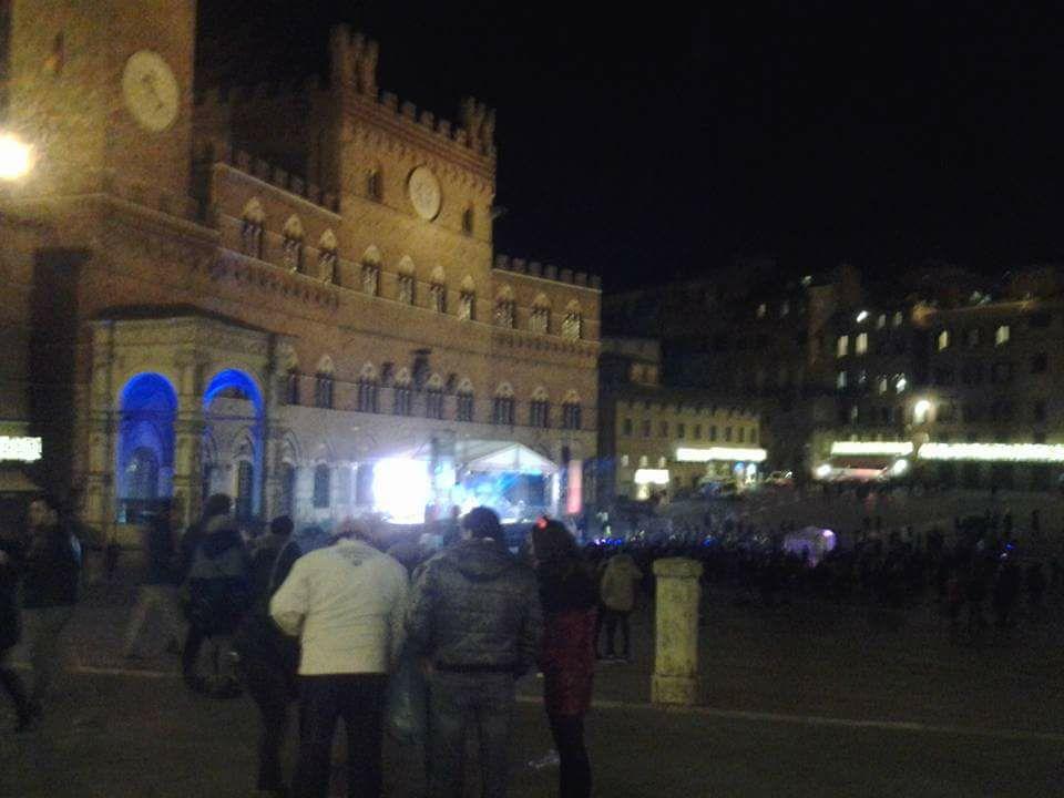 Critiche per il Capodanno in Piazza Del Campo