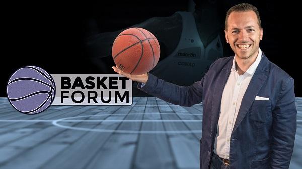 Torna alle 21.15 su Siena Tv l'appuntamento con Basket Forum