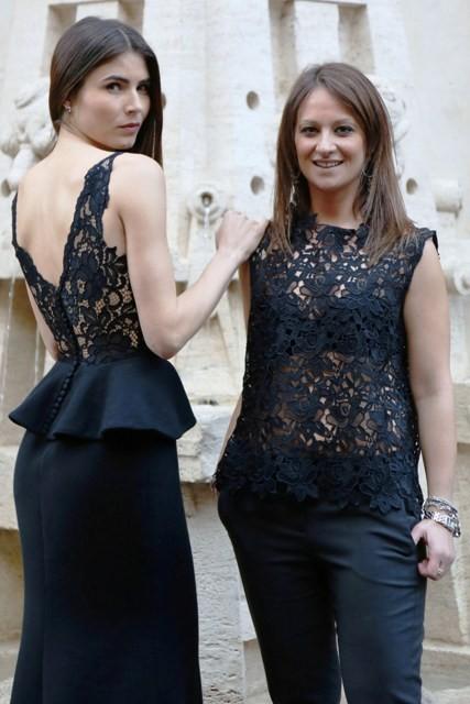 Successo del brand Asia Neri di Irene Mattei all'iniziativa I love via Margutta
