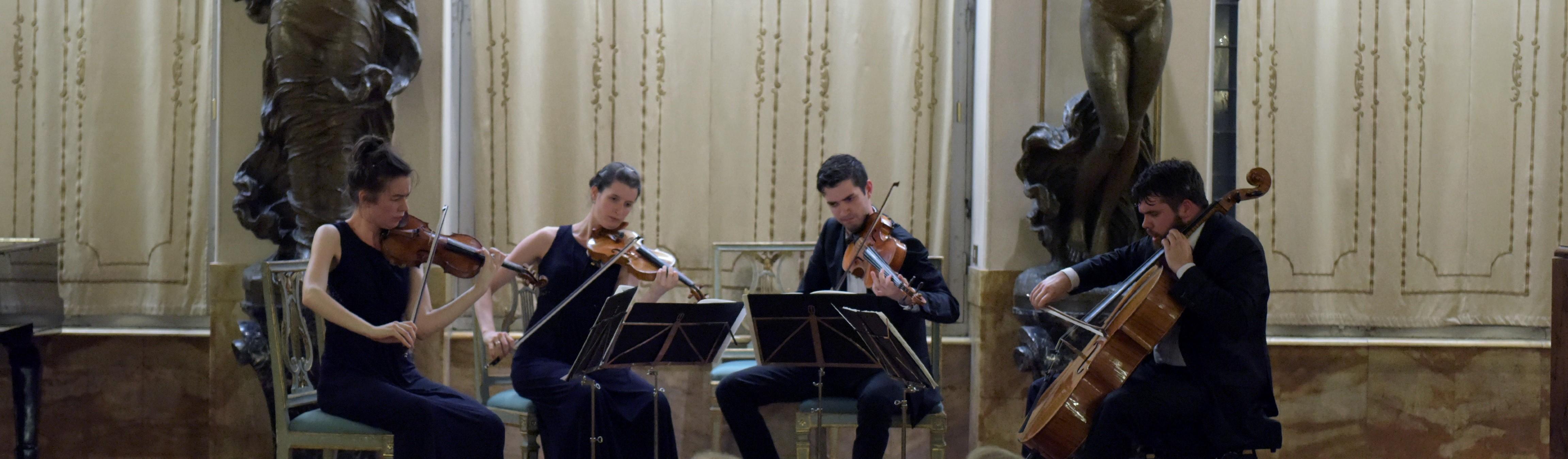 Il giovane Quartetto Aris alla Micat in Vertice