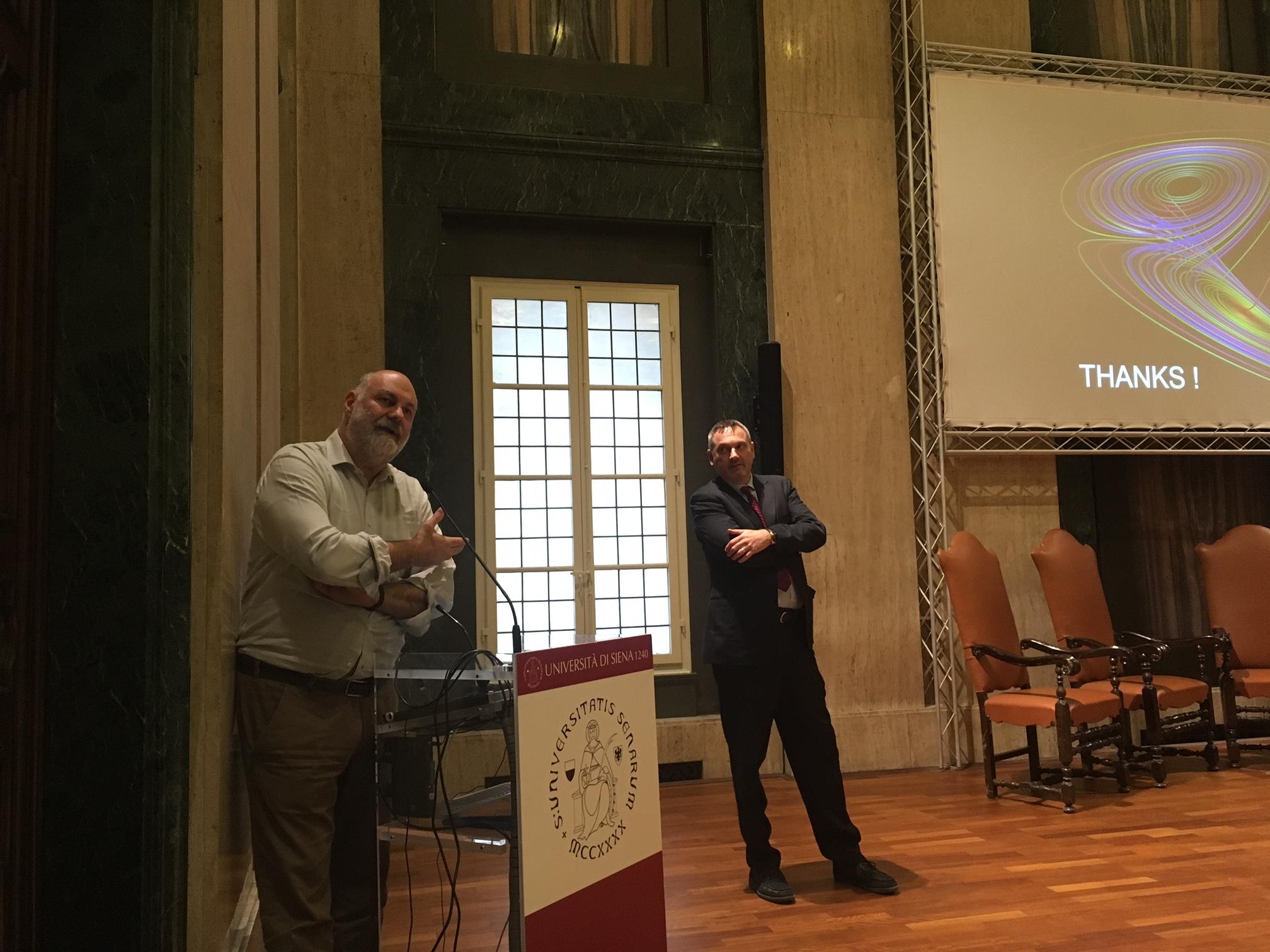 Cambiamento climatico, agricoltura, alimentazione e stili di vita nella lezione del premio Nobel Riccardo Valentini all'Università di Siena