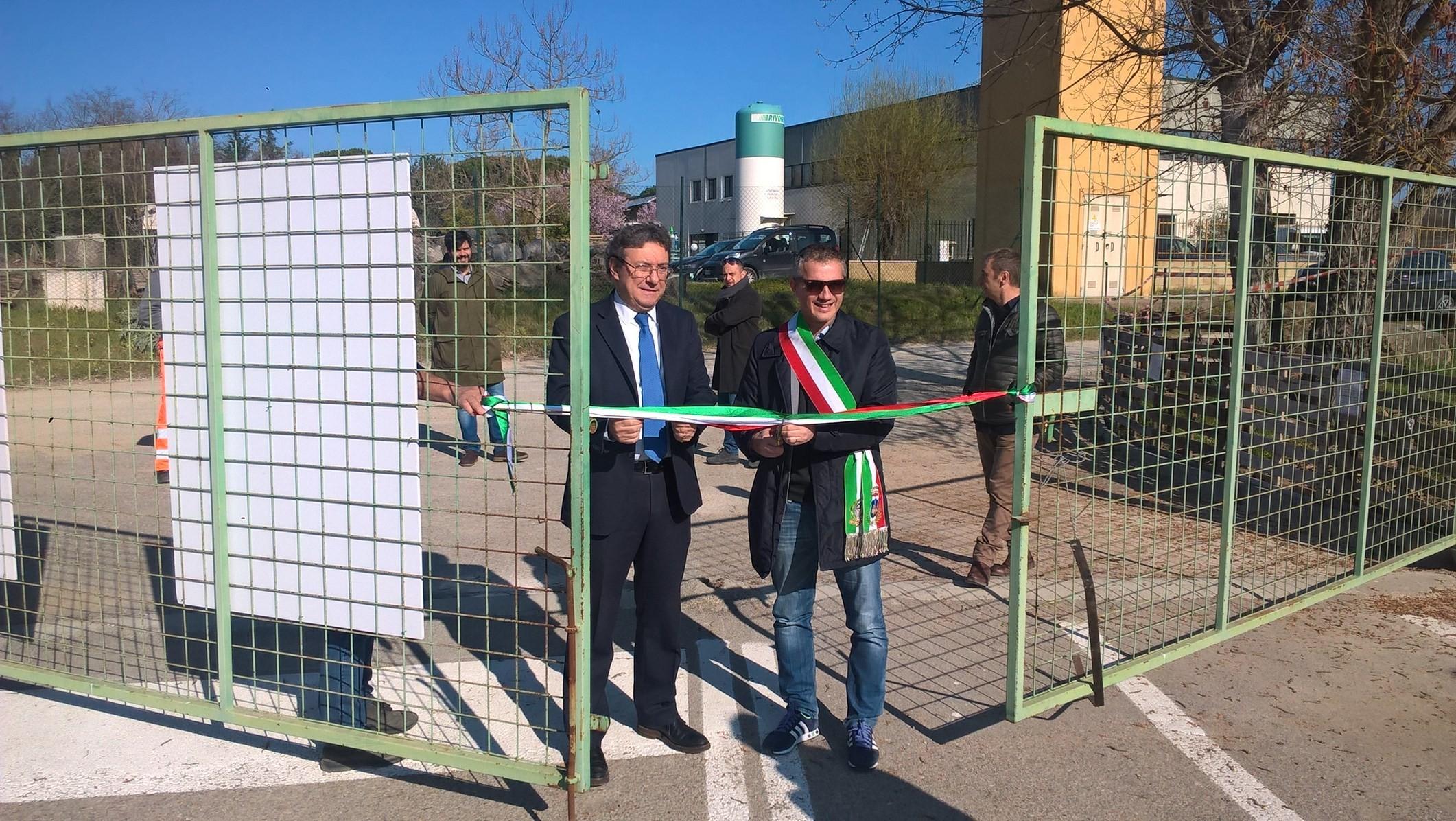Inaugurato il centro di raccolta di Castelnuovo Berardenga