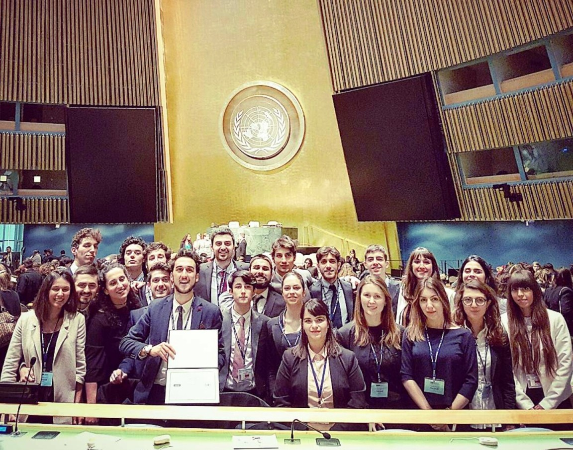 Gli studenti dell'Università di Siena premiati all'ONU