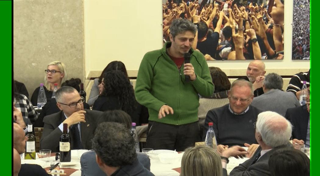 Pif presenta il suo primo romanzo all'Università di Siena