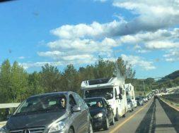 lunghe file traffico siena-grosseto