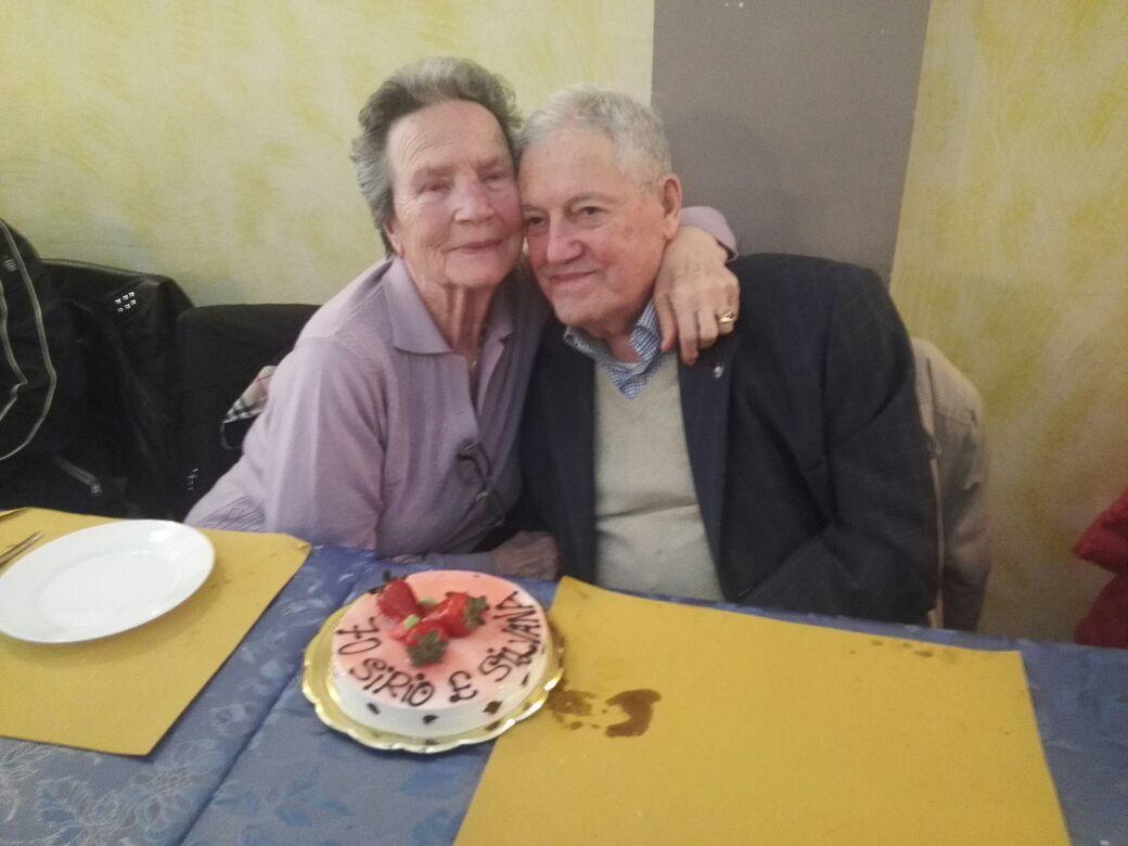 Sposi da record: 70 anni insieme