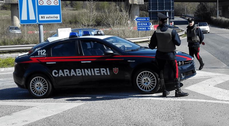 I carabinieri di Montalcino denunciano due persone per guida in stato d'ebbrezza