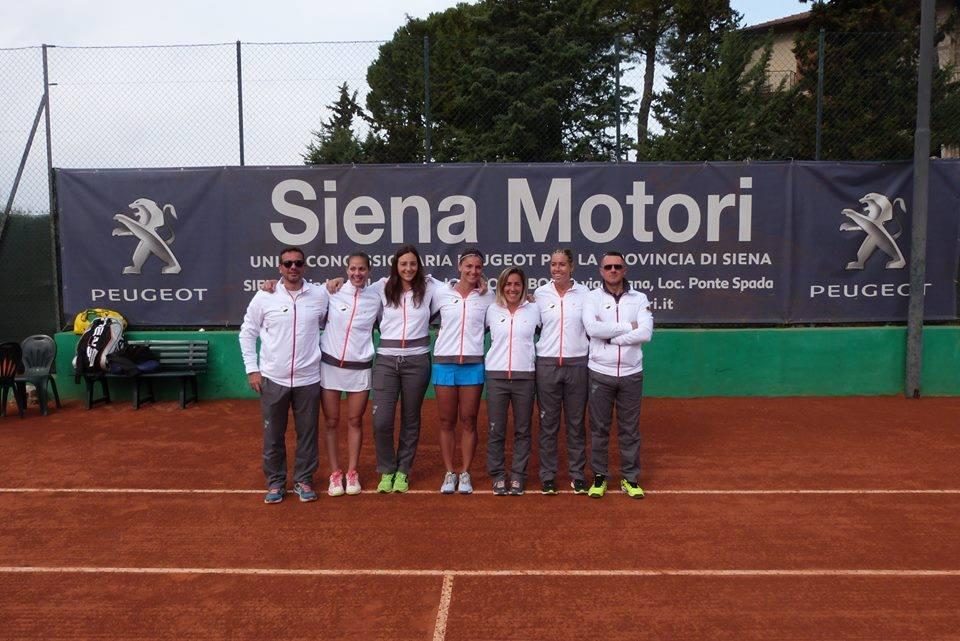 Tennis – Vittoria e primo posto per il Ct Siena